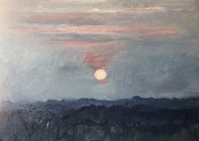 Sunset in Sussex