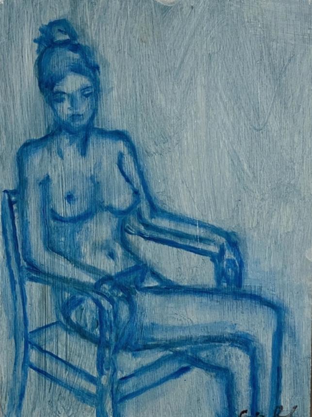 Girl in Blue 2