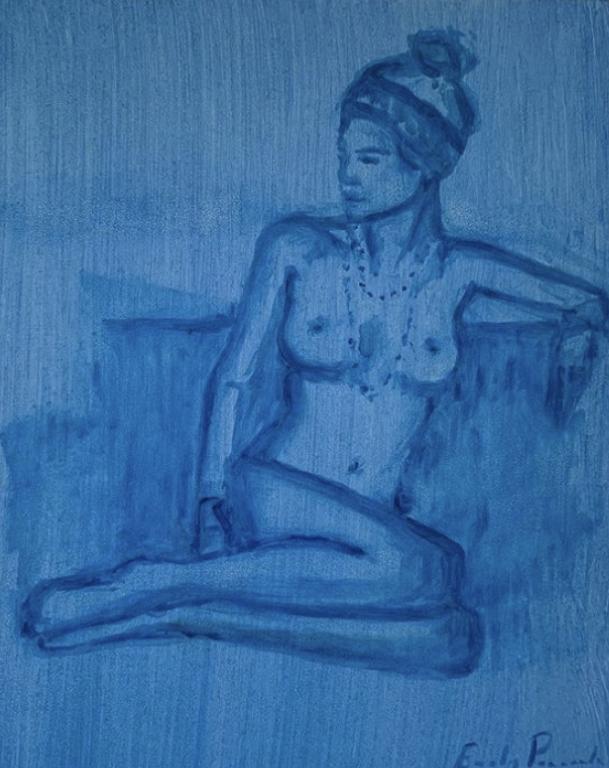 Girl in Blue 1